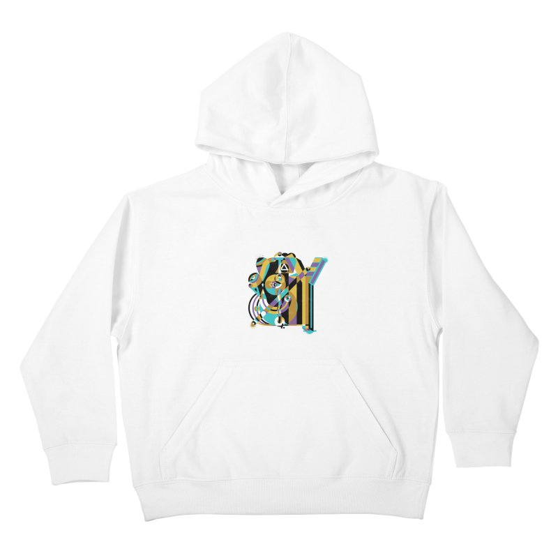 Stay Cubist Kids Pullover Hoody by Mario Carpe Shop
