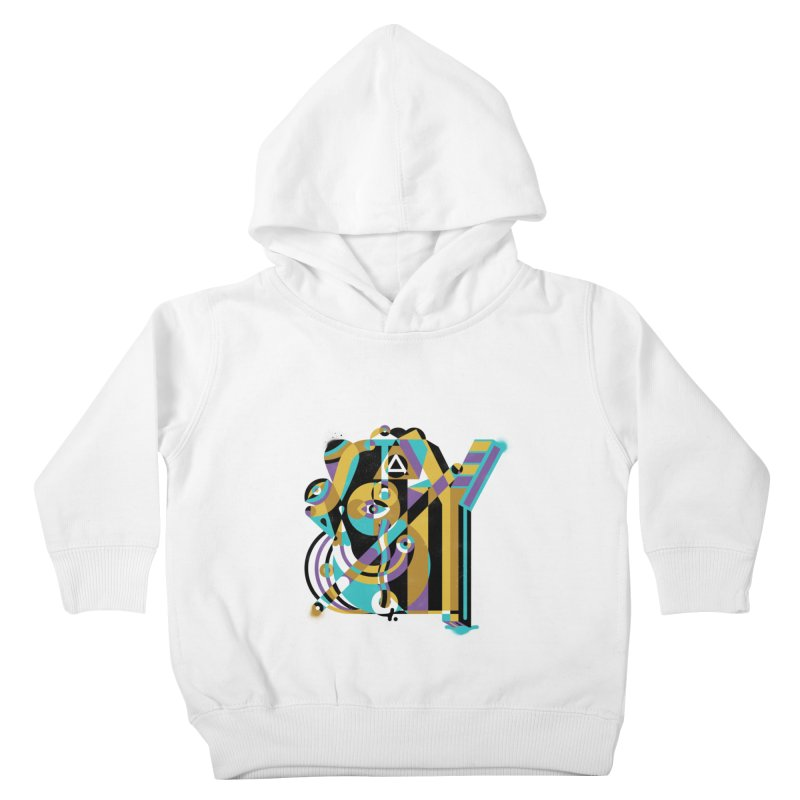 Stay Cubist Kids Toddler Pullover Hoody by Mario Carpe Shop