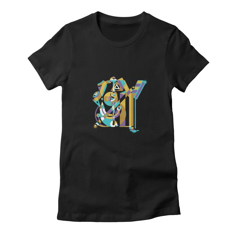 Stay Cubist Women's T-Shirt by Mario Carpe Shop