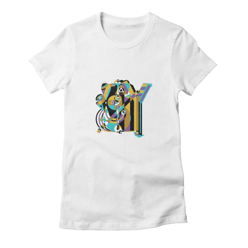 Stay Cubist Women's T-Shirt by Mario Carpe Shop