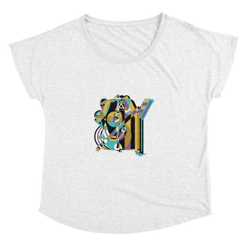 Stay Cubist Women's Dolman by Mario Carpe Shop
