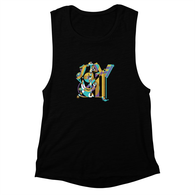 Stay Cubist Women's Muscle Tank by Mario Carpe Shop