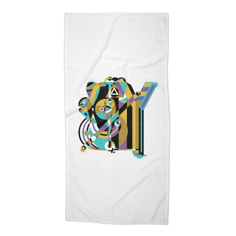 Stay Cubist Accessories Beach Towel by Mario Carpe Shop
