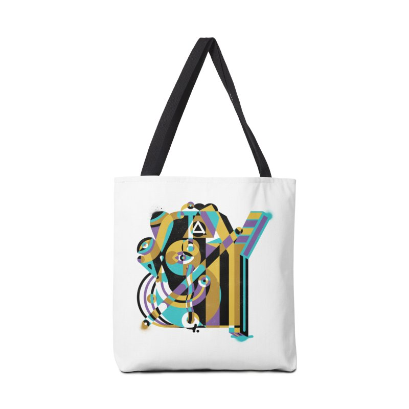 Stay Cubist Accessories Tote Bag Bag by Mario Carpe Shop