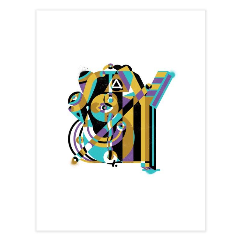 Stay Cubist Home Fine Art Print by Mario Carpe Shop