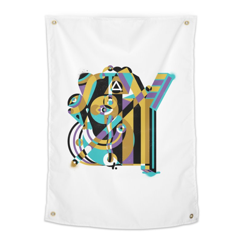 Stay Cubist Home Tapestry by Mario Carpe Shop