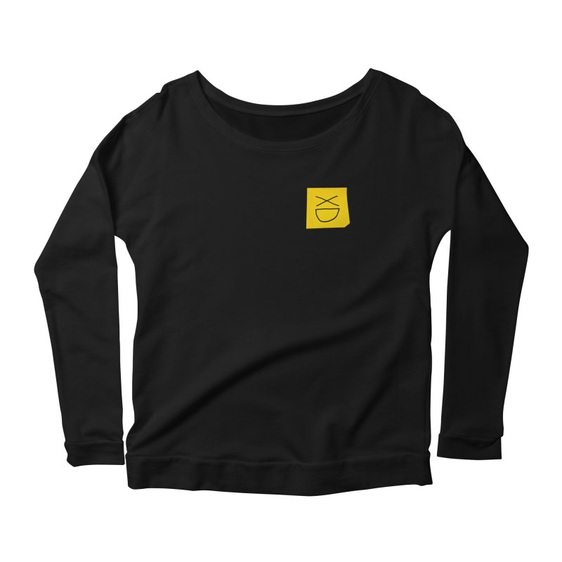 XD Women's Scoop Neck Longsleeve T-Shirt by Made by MAD