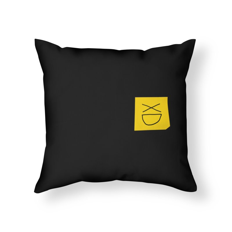 XD Home Throw Pillow by Made by MAD
