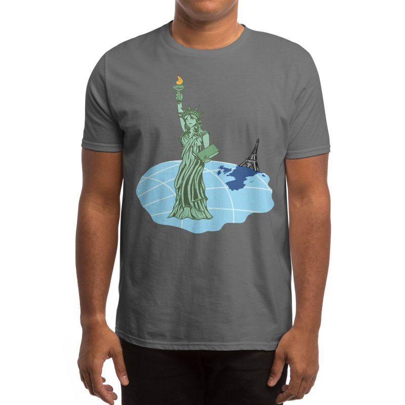 Statue of Envy Men's T-Shirt by Made by MAD