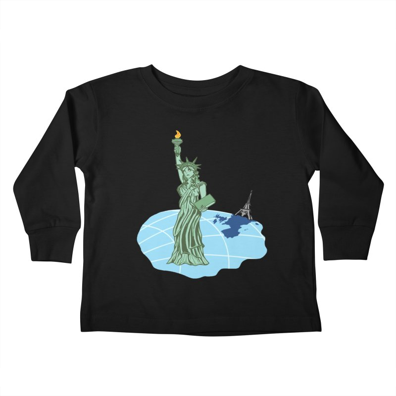 Statue of Envy Kids Toddler Longsleeve T-Shirt by Made by MAD