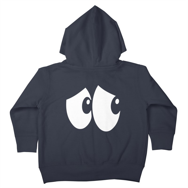 Who Turned Off The Lights?! Kids Toddler Zip-Up Hoody by Made by MAD