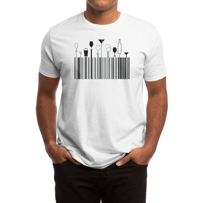BAR CODE Men's T-Shirt by Made by MAD