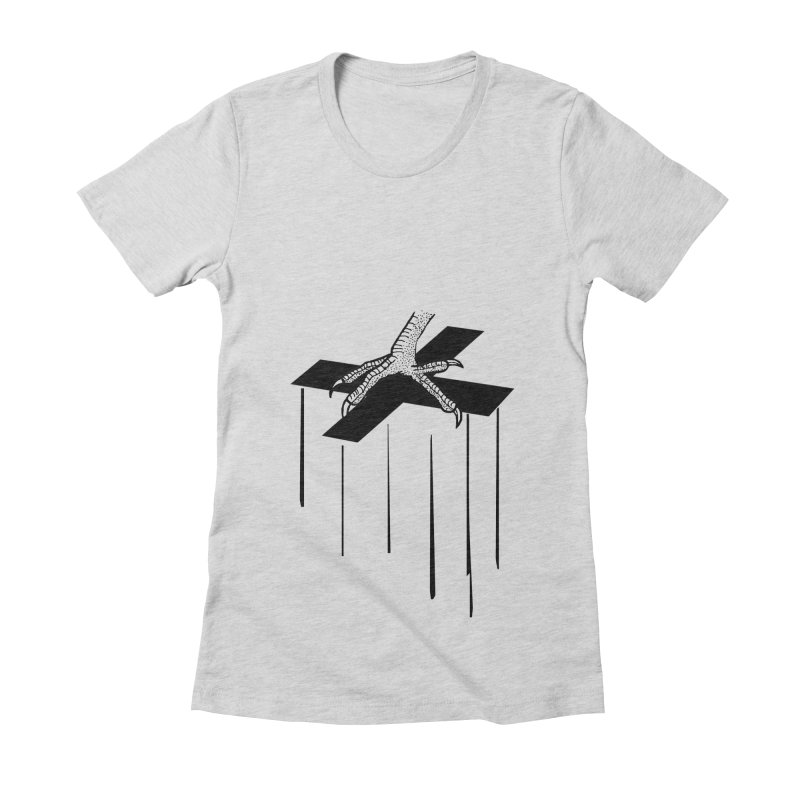 THE COCKFATHER Women's Fitted T-Shirt by Made by MAD