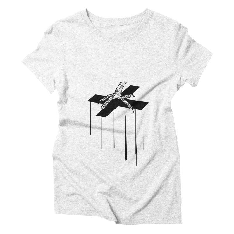 THE COCKFATHER Women's Triblend T-shirt by Made by MAD