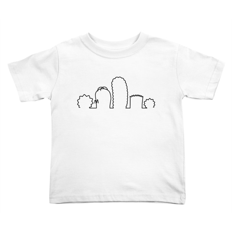 SIMPLESONS Kids Toddler T-Shirt by Made by MAD