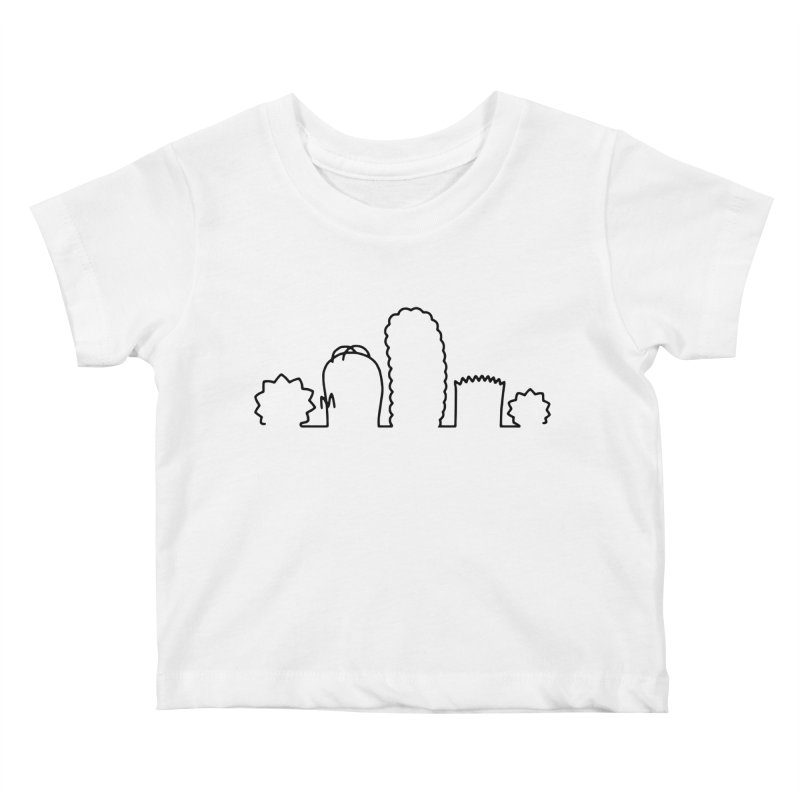 SIMPLESONS Kids Baby T-Shirt by Made by MAD