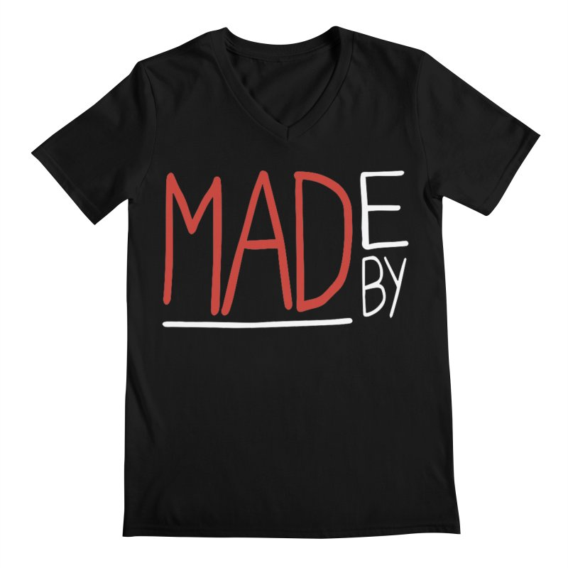 Made by MAD Men's Regular V-Neck by Made by MAD