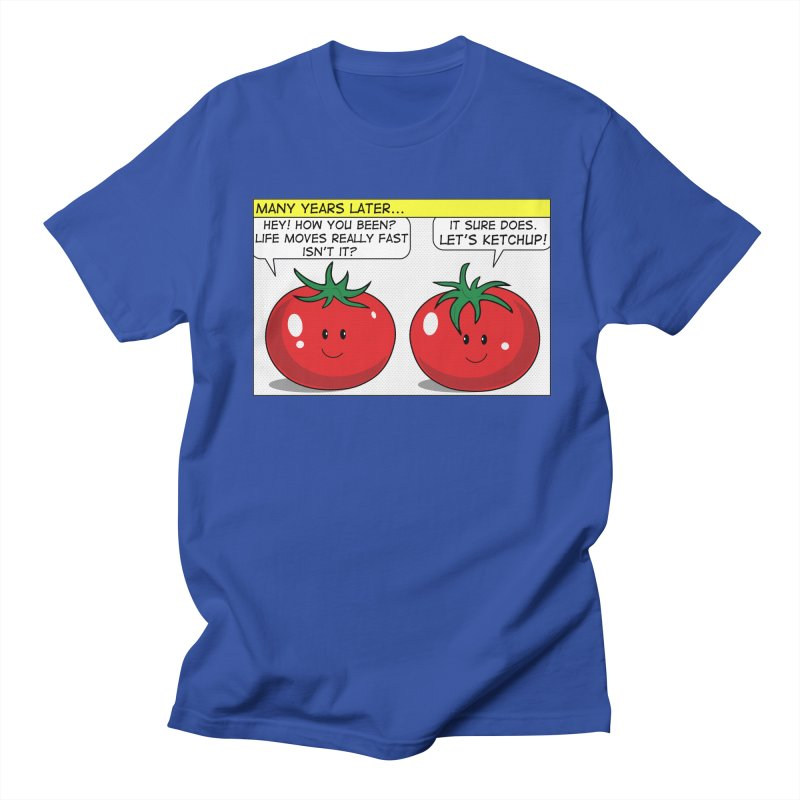 Let's Ketchup! Men's T-Shirt by Made by MAD