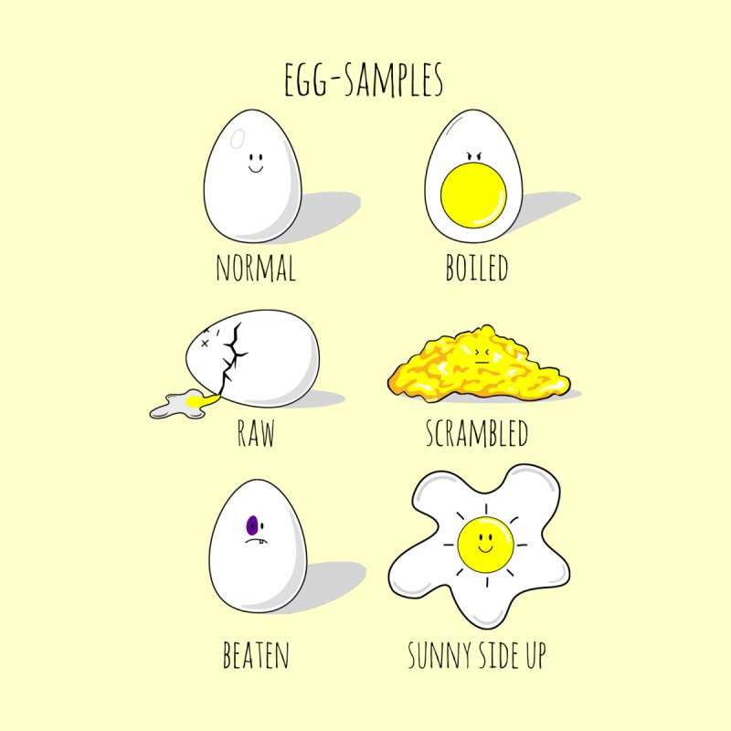 EGG-SAMPLES   by Made by MAD