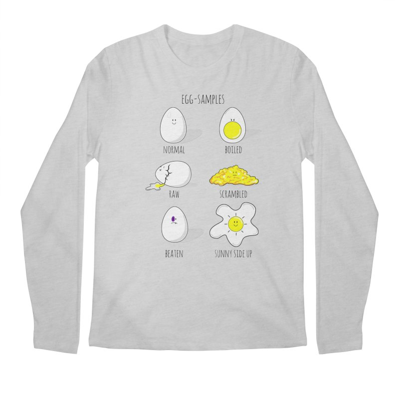 EGG-SAMPLES Men's Longsleeve T-Shirt by Made by MAD