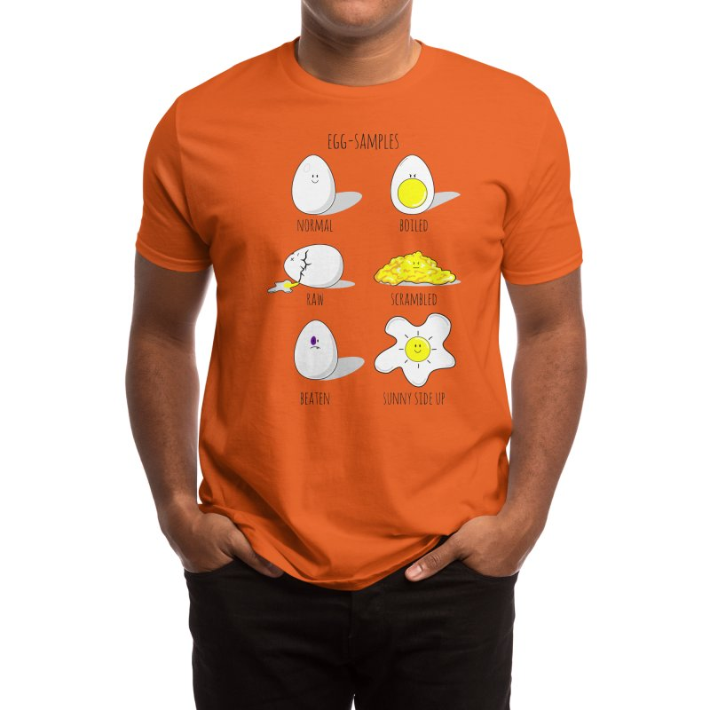EGG-SAMPLES Men's T-Shirt by Made by MAD