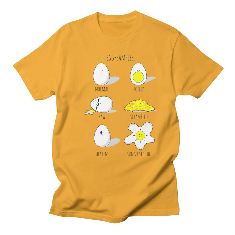 EGG-SAMPLES Men's Regular T-Shirt by Made by MAD