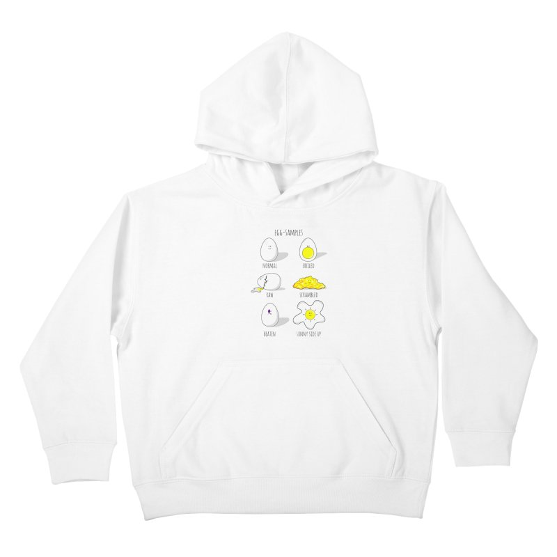 EGG-SAMPLES Kids Pullover Hoody by Made by MAD