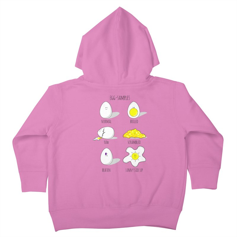 EGG-SAMPLES Kids Toddler Zip-Up Hoody by Made by MAD