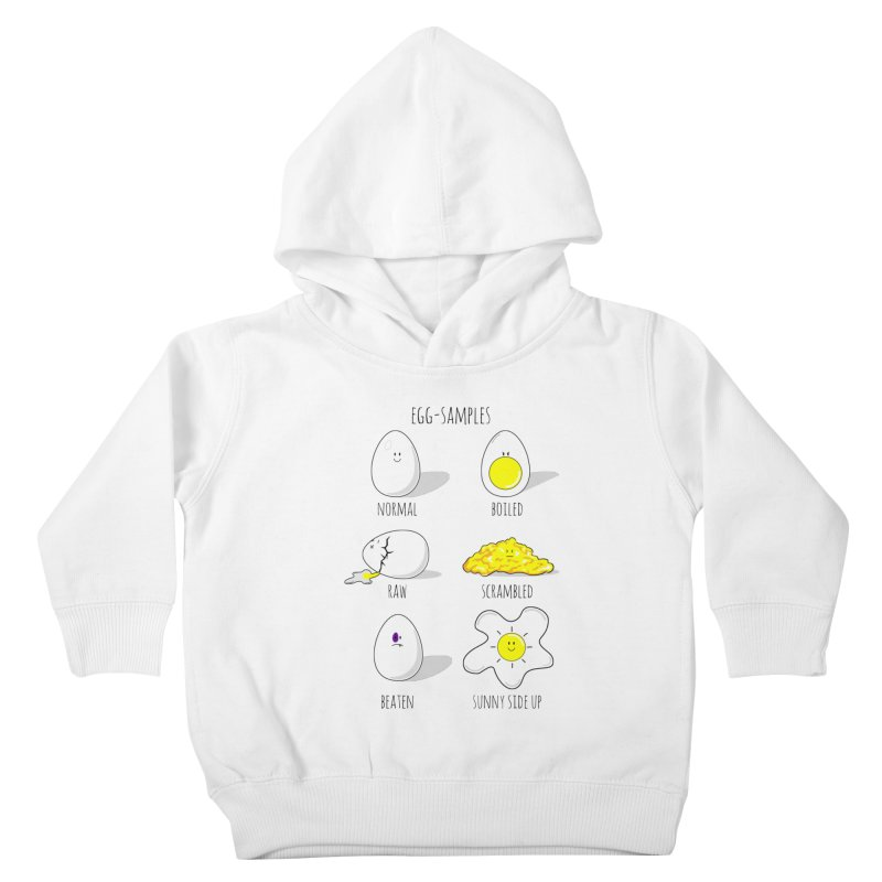 EGG-SAMPLES Kids Toddler Pullover Hoody by Made by MAD