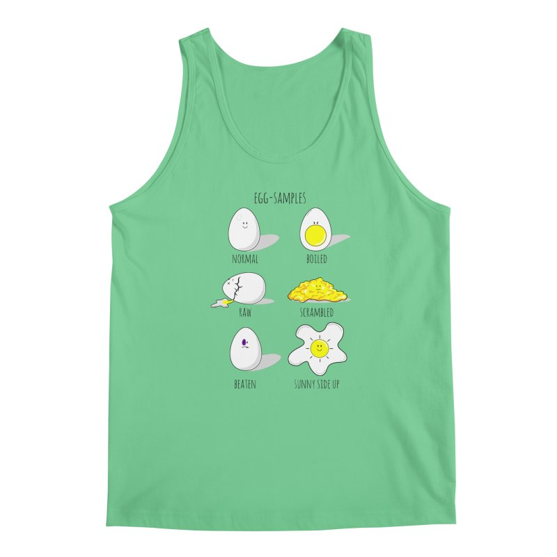 EGG-SAMPLES Men's Regular Tank by Made by MAD