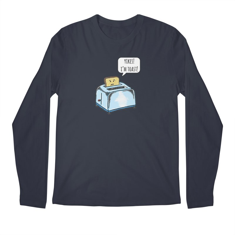 I'm Toast! Men's Regular Longsleeve T-Shirt by Made by MAD