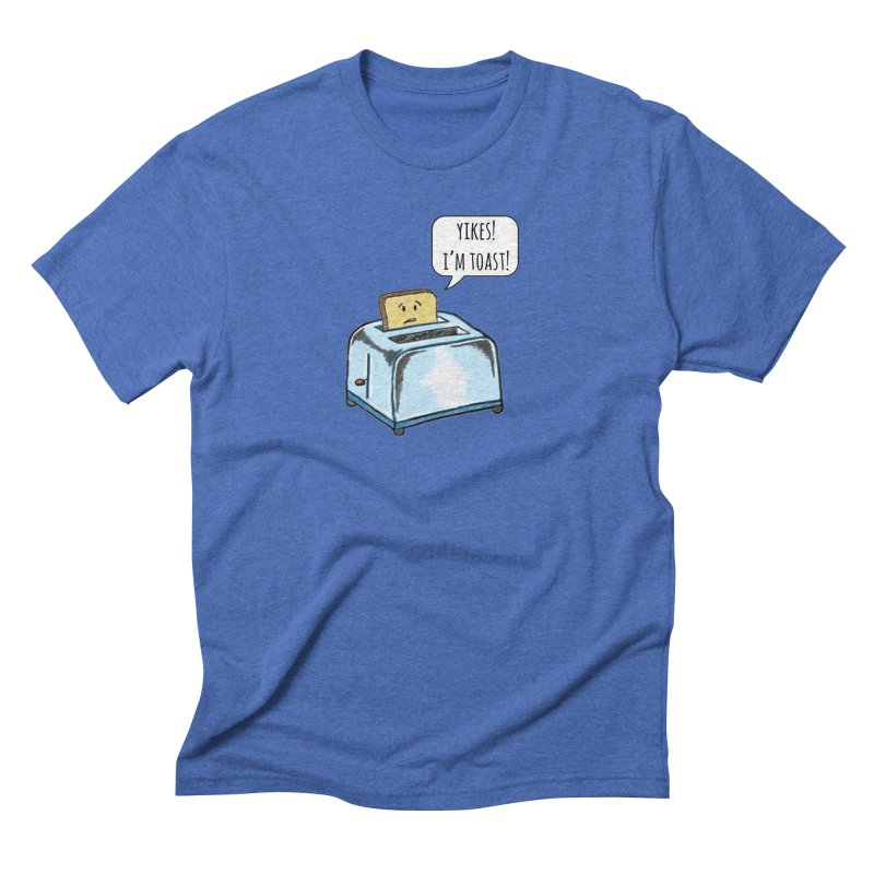 I'm Toast! Men's Triblend T-Shirt by Made by MAD