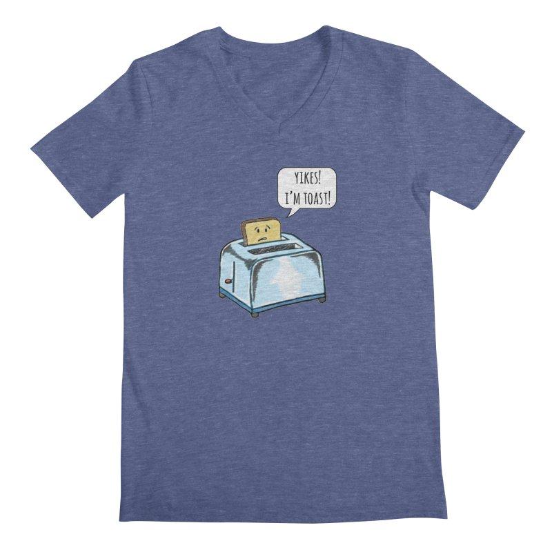 I'm Toast! Men's Regular V-Neck by Made by MAD