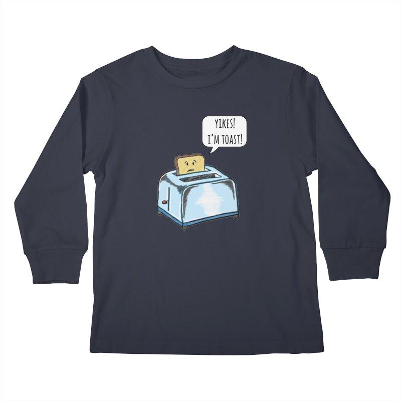 I'm Toast! Kids Longsleeve T-Shirt by Made by MAD