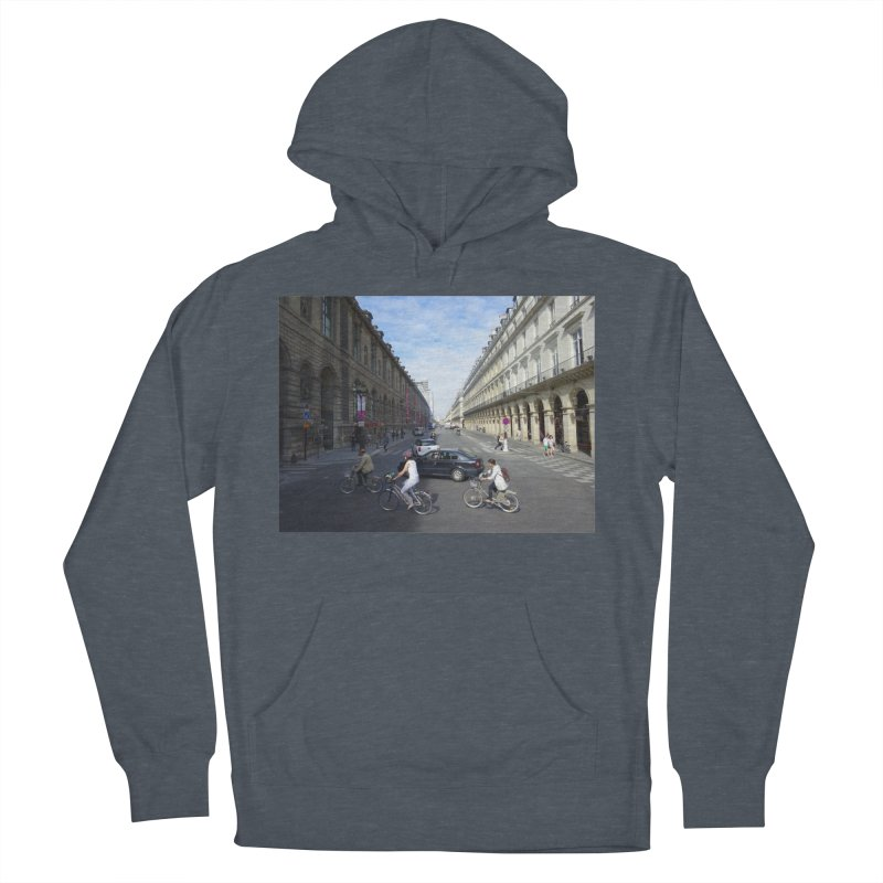 Paris in Splits Women's French Terry Pullover Hoody by Made by MAD