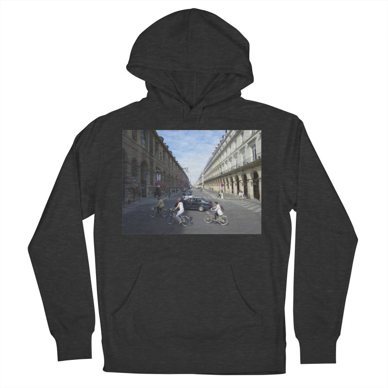 Paris in Splits Men's Pullover Hoody by Made by MAD
