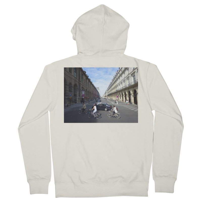 Paris in Splits Men's Zip-Up Hoody by Made by MAD