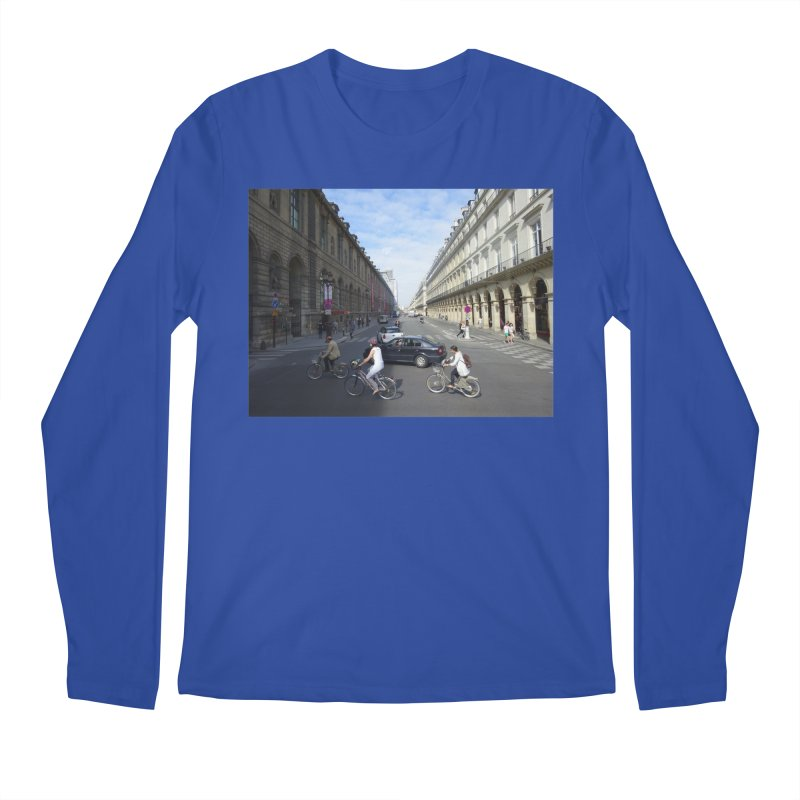 Paris in Splits Men's Longsleeve T-Shirt by Made by MAD