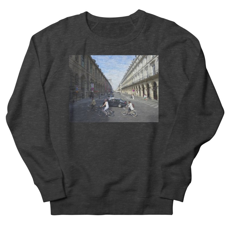 Paris in Splits Women's French Terry Sweatshirt by Made by MAD