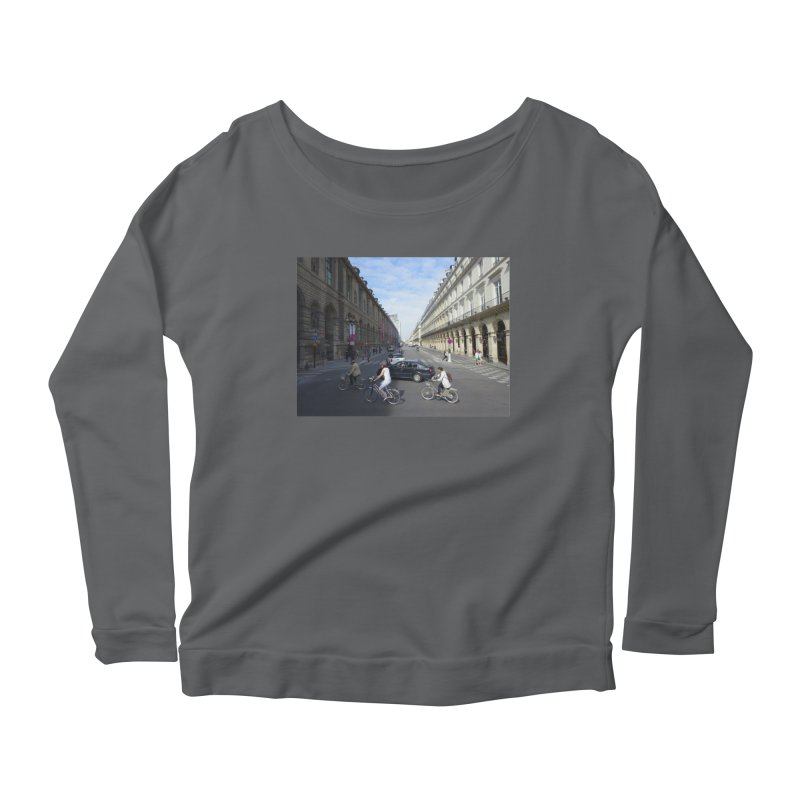 Paris in Splits Women's Longsleeve T-Shirt by Made by MAD