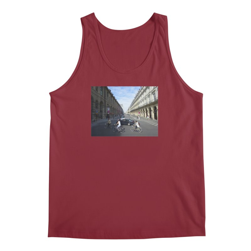 Paris in Splits Men's Tank by Made by MAD