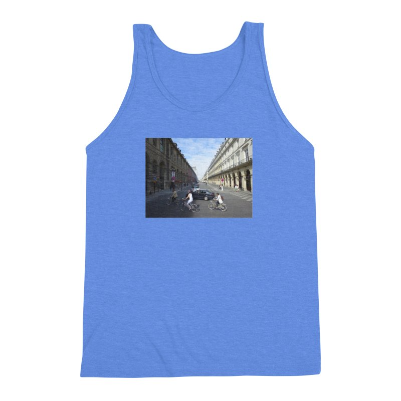 Paris in Splits Men's Triblend Tank by Made by MAD