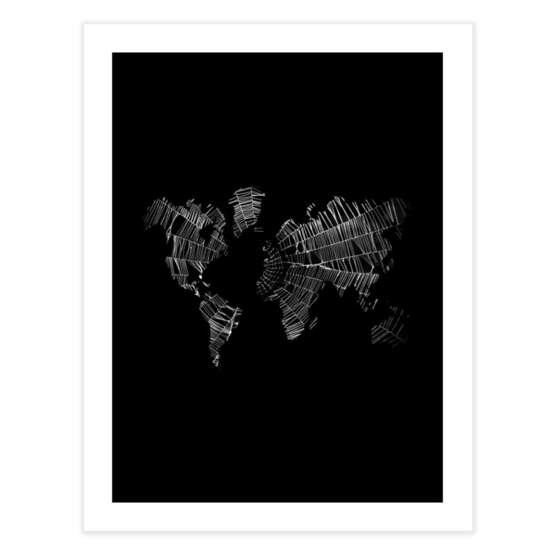 World Wide Web Home Fine Art Print by Made by MAD