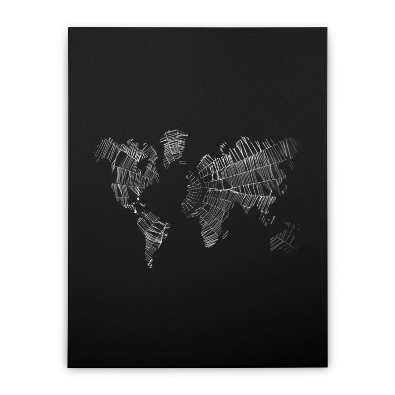 World Wide Web Home Stretched Canvas by Made by MAD