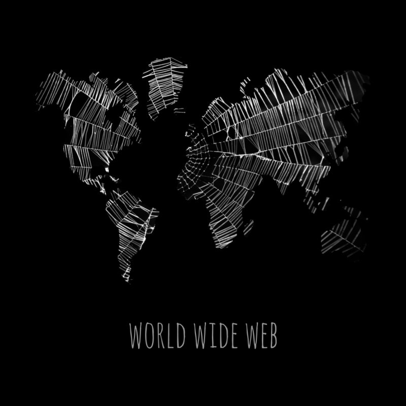 World Wide Web Men's Tank by Made by MAD