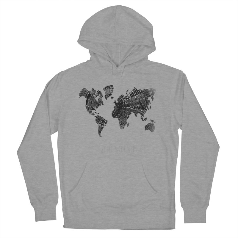 World Wide Web Men's French Terry Pullover Hoody by Made by MAD