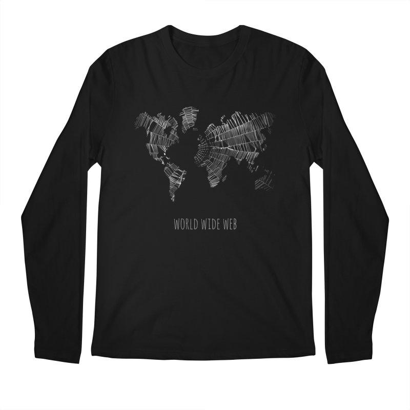 World Wide Web Men's Longsleeve T-Shirt by Made by MAD