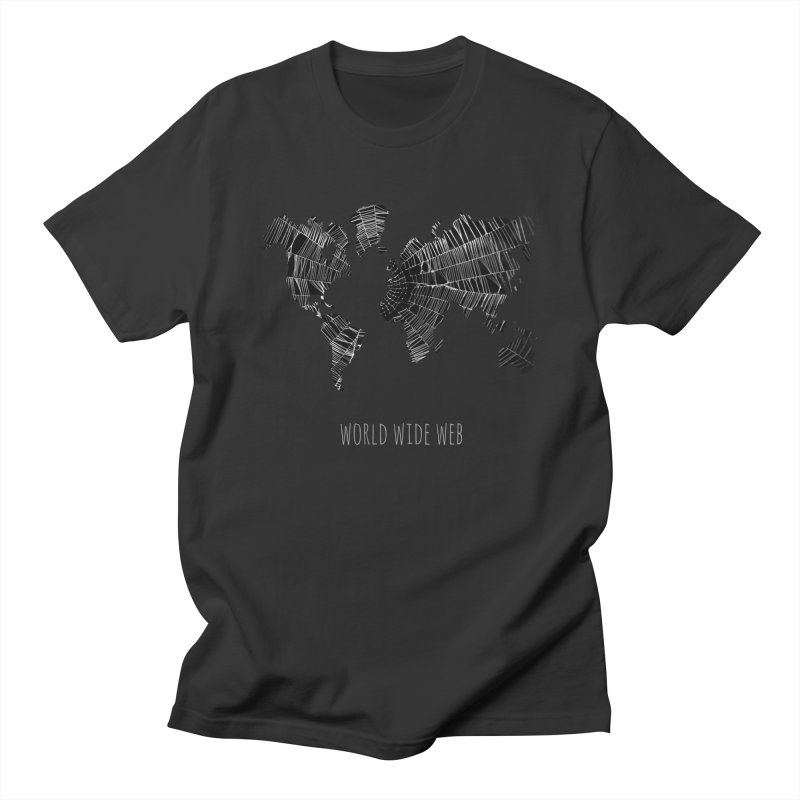 World Wide Web Men's Regular T-Shirt by Made by MAD