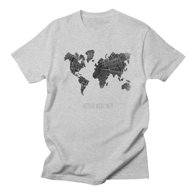 World Wide Web Men's T-shirt by Made by MAD