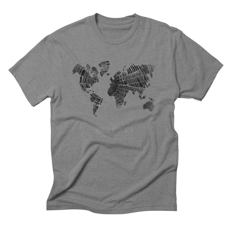 World Wide Web Men's Triblend T-Shirt by Made by MAD